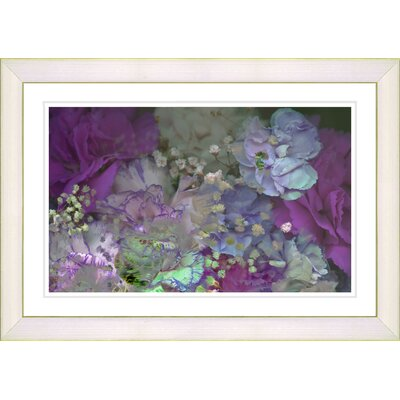 Scented Bloom Framed Photographic Print Size: 14