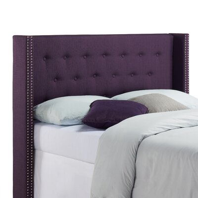 Ferrera Upholstered Wingback Headboard
