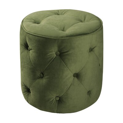 Elvie Pouf Upholstery: Spring Green