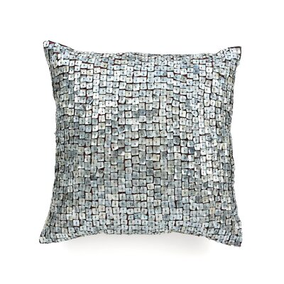 Vincent Pearl Throw Pillow Color: Silver