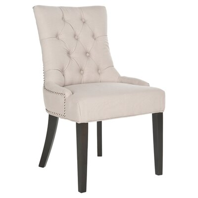 Eva Harlow Ring Side Chair Upholstery : Taupe