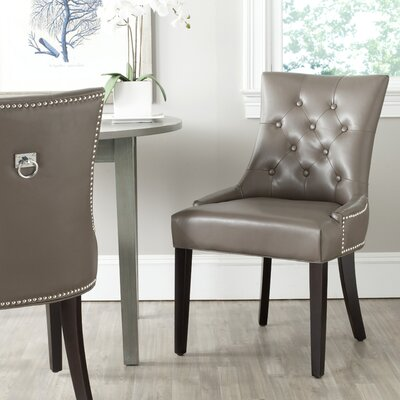 Mcdaniel Ring Upholstered Dining Chair Upholstery : Clay