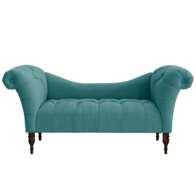 Astaire Chaise Lounge Upholstery: Linen Laguna