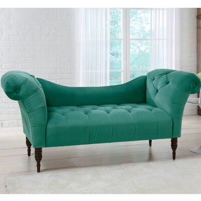 Elissa Settee Upholstery: Velvet Regal Laguna