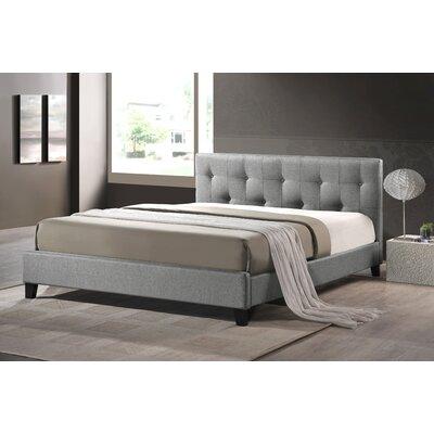 Alisa Upholstered Platform Bed