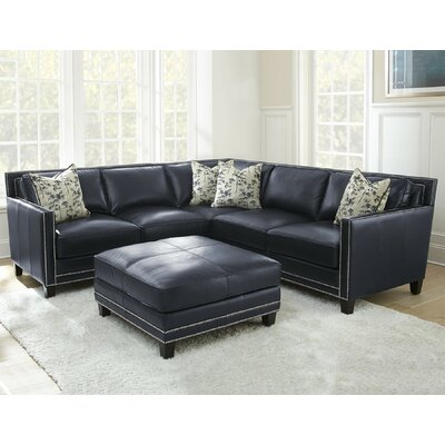 Lincoln Leather Sectional
