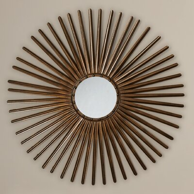 Corisande Wall Mirror Color: Gold