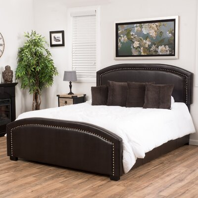 Jarvis Upholstered Panel Bed Size: King