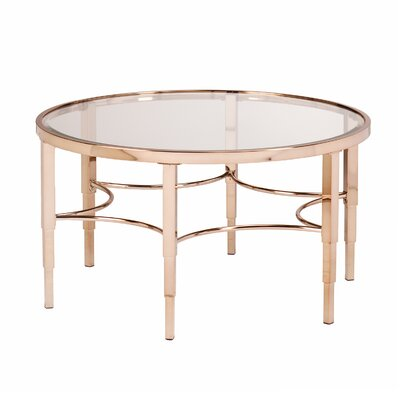 Herione Metallic Gold Coffee Table