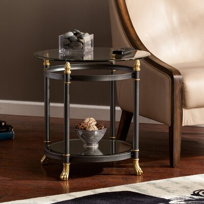 Barking Round End Table