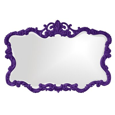 Barnoldswick Wall Mirror Finish: Royal Purple