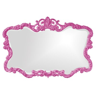 Barnoldswick Wall Mirror Finish: Hot Pink