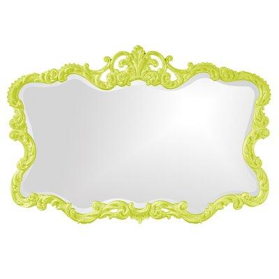 Barnoldswick Wall Mirror Finish: Green