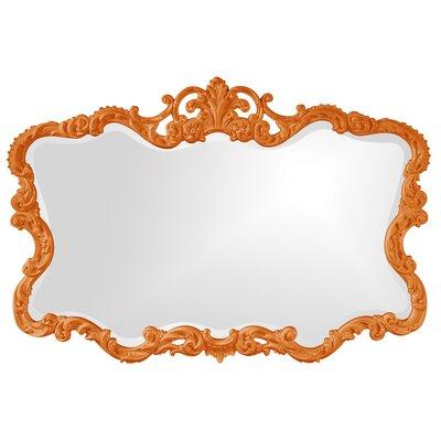 Barnoldswick Wall Mirror Finish: Orange