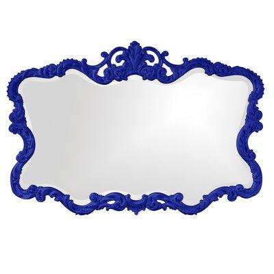 Barnoldswick Wall Mirror Finish: Royal Blue