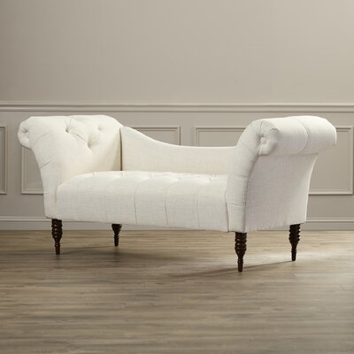 Astaire Chaise Lounge Upholstery: Linen Talc