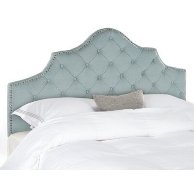 Lily Pond Upholstered Panel Headboard Size: Full