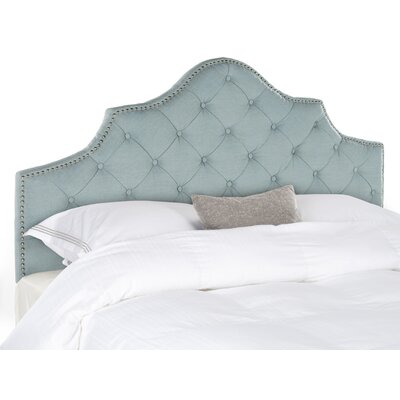 Lily Pond Upholstered Panel Headboard Size: Queen