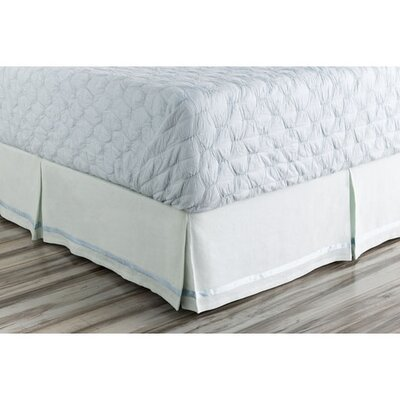 Barton-le-Clay Bed Skirt Size: Twin, Color: Blue