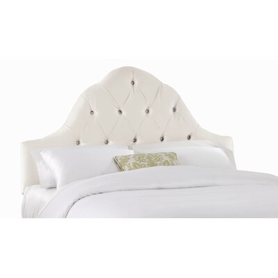 Barnt High Arch Upholstered Panel Headboard Size: Full/Queen