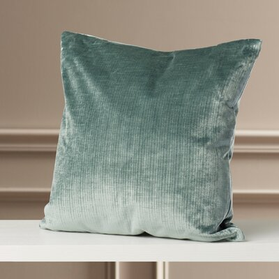 Ertvelde Plain Velvet Throw Pillow Size: 20 H x 20 W