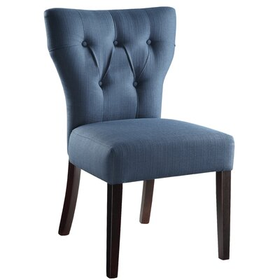 Anja Side Chair Upholstery: Klein Azure