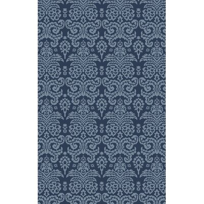 Batley Hand Tufted Blue Area Rug Rug Size: Rectangle 4 x 6