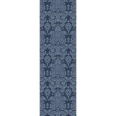Batley Hand Tufted Blue Area Rug Rug Size: Runner 26 x 8