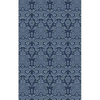 Batley Hand Tufted Blue Area Rug Rug Size: 4 x 6