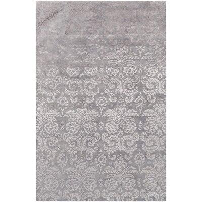 Batley Hand Tufted Gray Area Rug Rug Size: 6 x 9