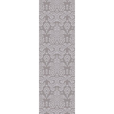 Batley Hand Tufted Gray Area Rug Rug Size: Runner 26 x 8