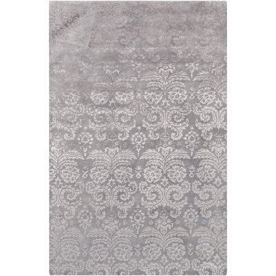 Batley Hand Tufted Gray Area Rug Rug Size: 4 x 6