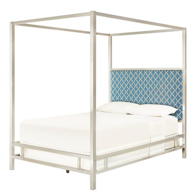 Chattel Heritage Panel Bed Finish: Chrome, Size: Full