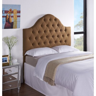 Cuthbert Upholstered Panel Headboard Size: Full / Queen, Upholstery: Sand