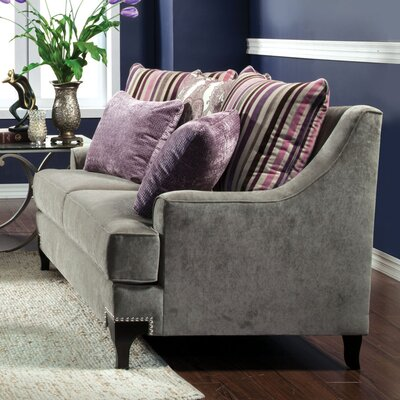 Fl�vio Premium Sofa Upholstery: Light Gray