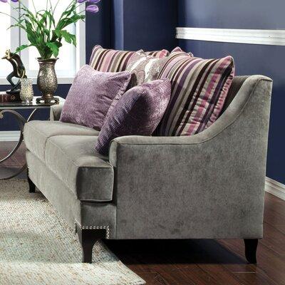 Verwood Premium Sofa Upholstery: Light Gray