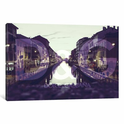 Lights by 5by5collective Photographic Print on Wrapped Canvas Size: 18
