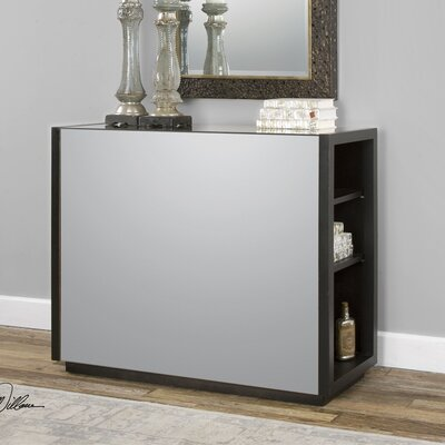 Oliver Console Table and Mirror Set
