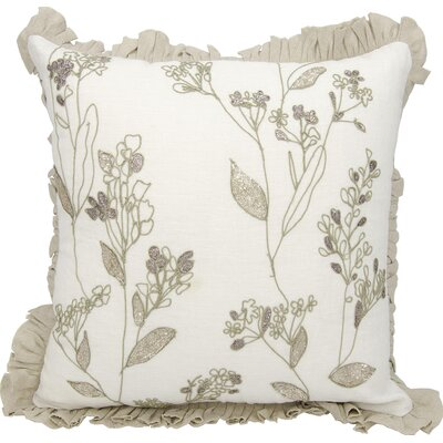 Surrey Square Linen Throw Pillow