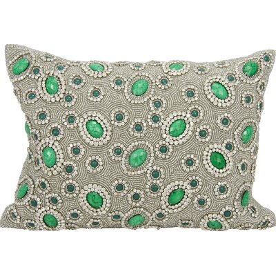 Surrey Rectangular Lumbar Pillow Color: Emerald