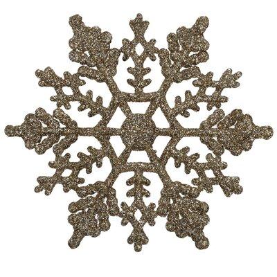 Christmas Tree Snowflake Ornament