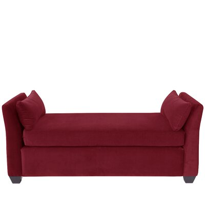 Hedon Velvet Daybed Color: Berry