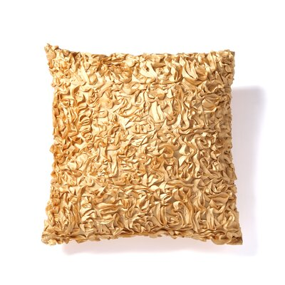 Milton Keynes Decorative Throw Pillow Color: Gold