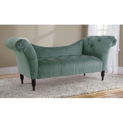 Elissa Lounge Settee Upholstery: Lagoon