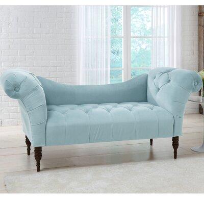 Elissa Lounge Settee Upholstery: Pool