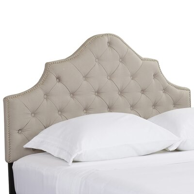 Winchcombe Upholstered Panel Headboard Size: Twin
