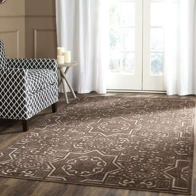 Wayfarer Hand-Loomed Light Brown Area Rug Rug Size: Rectangle 27 x 4