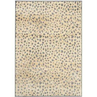 Martha Stewart Light Grey / Cream Area Rug Rug Size: 8 x 112