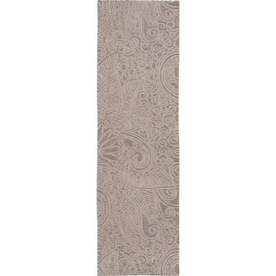 Cinderford Hand-Tufted Cappucino Area Rug Rug Size: Runner 23 x 8