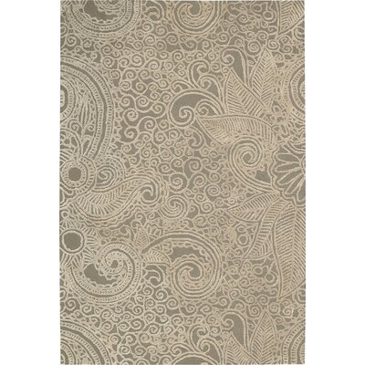 Cinderford Hand-Tufted Cappucino Area Rug Rug Size: 3'9